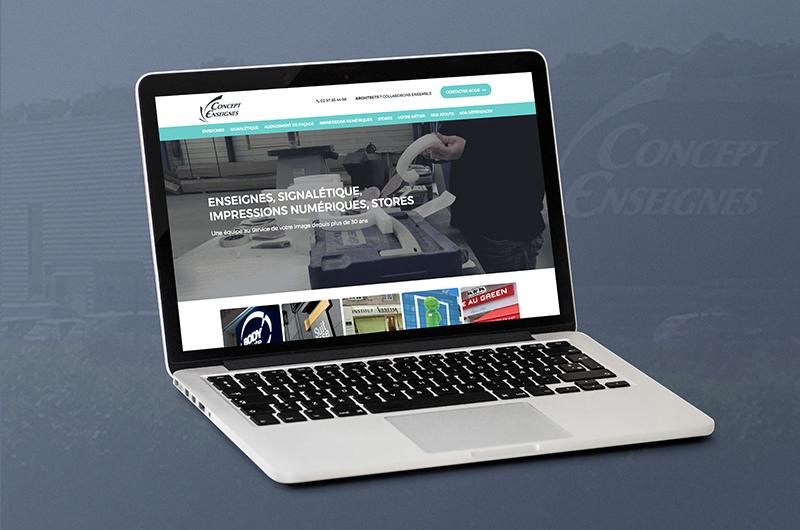 site-internet_concept-enseignes