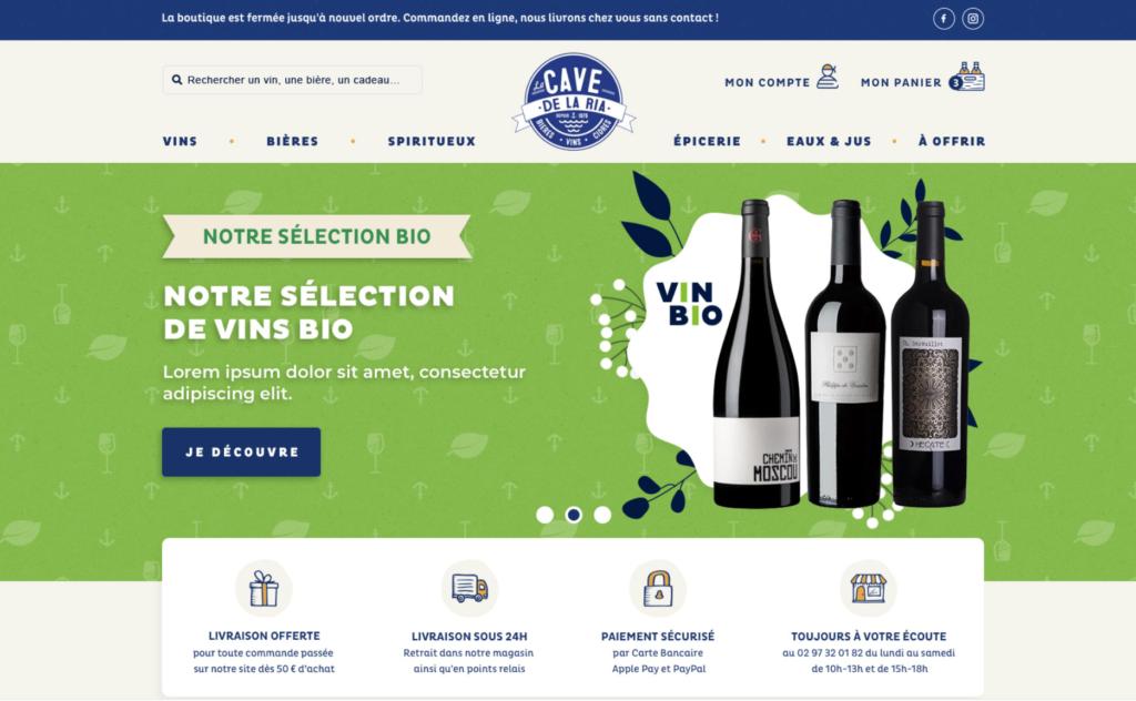 E commerce webdesign Shopify